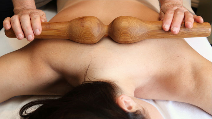 Bamboo Back Massage