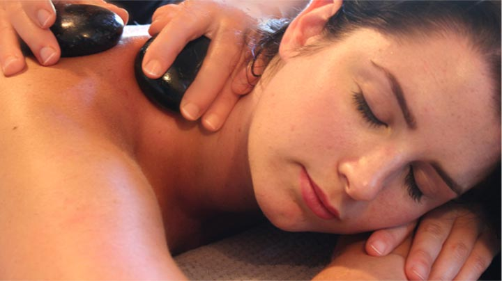 Hot Stone Neck Massage