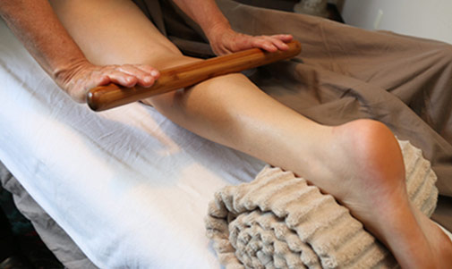Bamboo Leg Massage