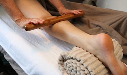 Bamboo Leg Massage